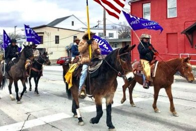 cowboys for trump donald trump supporter nationwide tour border security