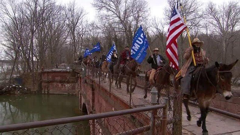 cowboys for trump donald trump support border security