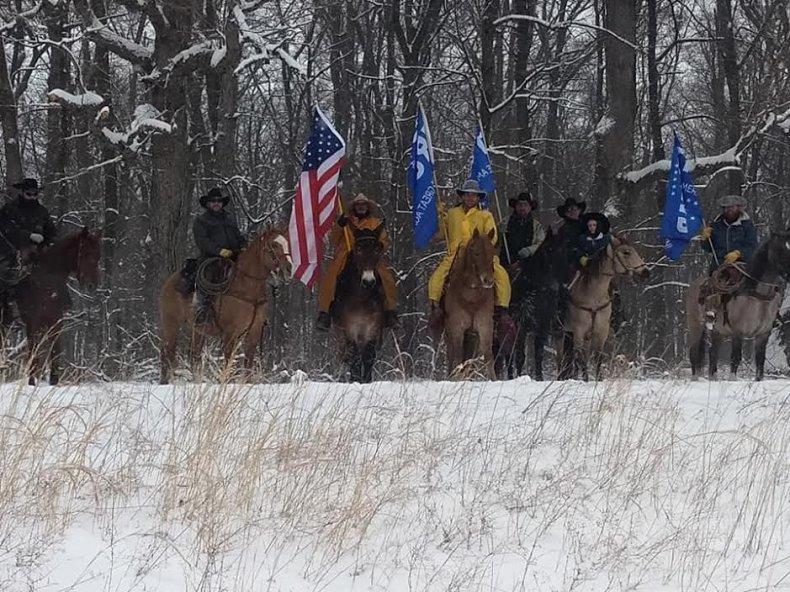 cowboys for trump donald trump support