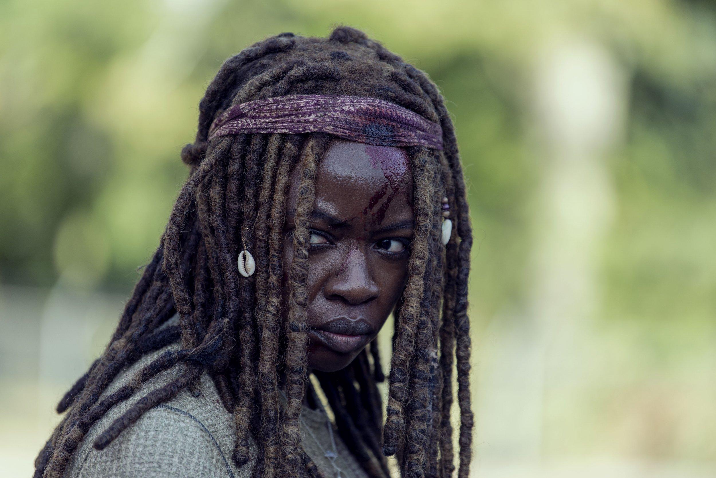 Walking Dead Michonne 9x14