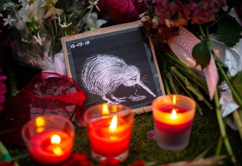 new zealand kiwi candles tribute getty