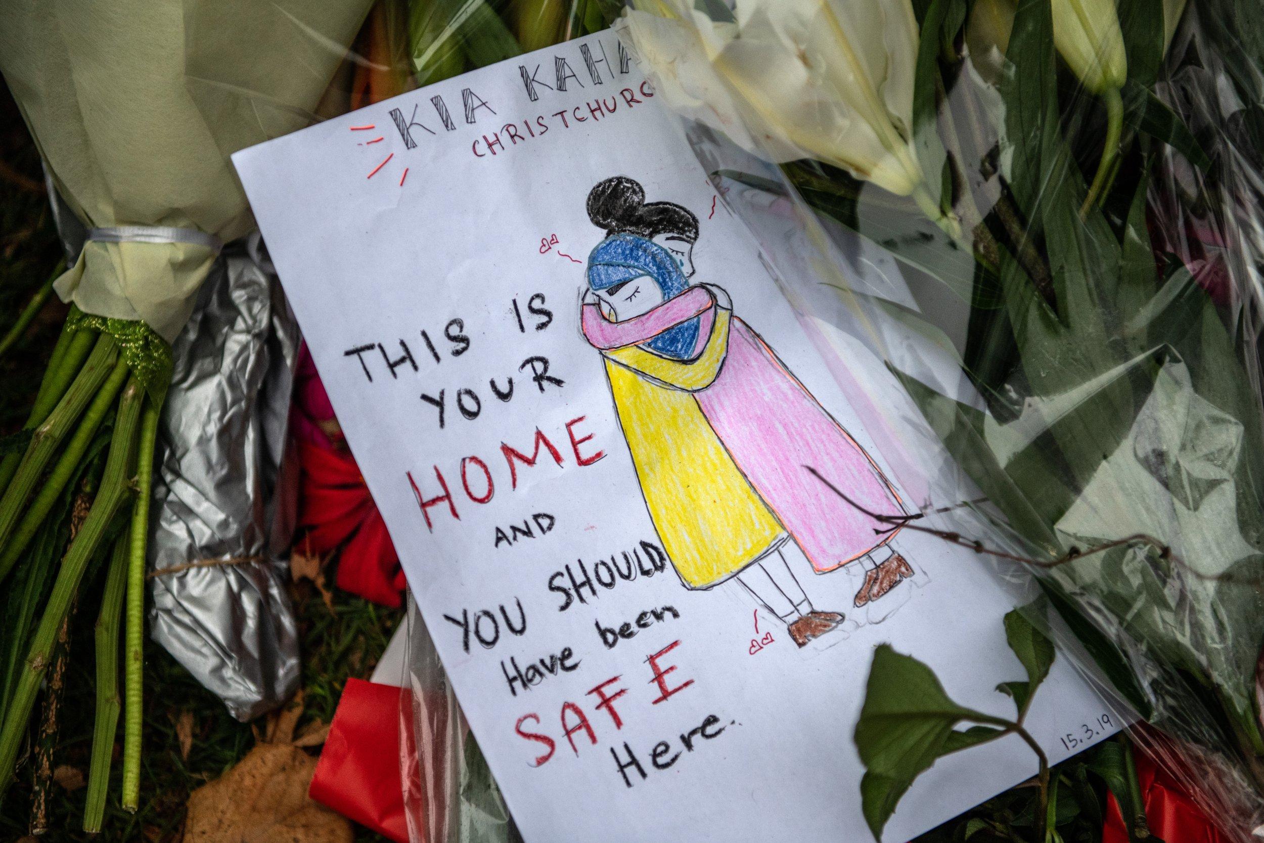 new zealand terror attack tribute getty