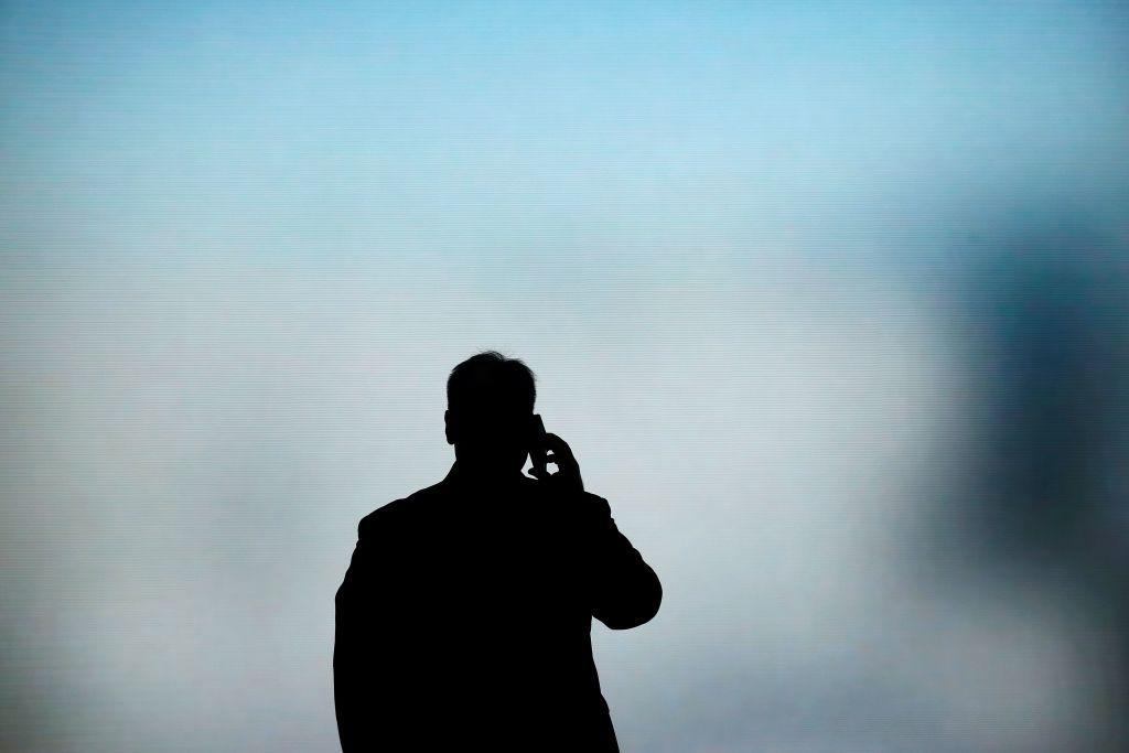 Man on Smartphone