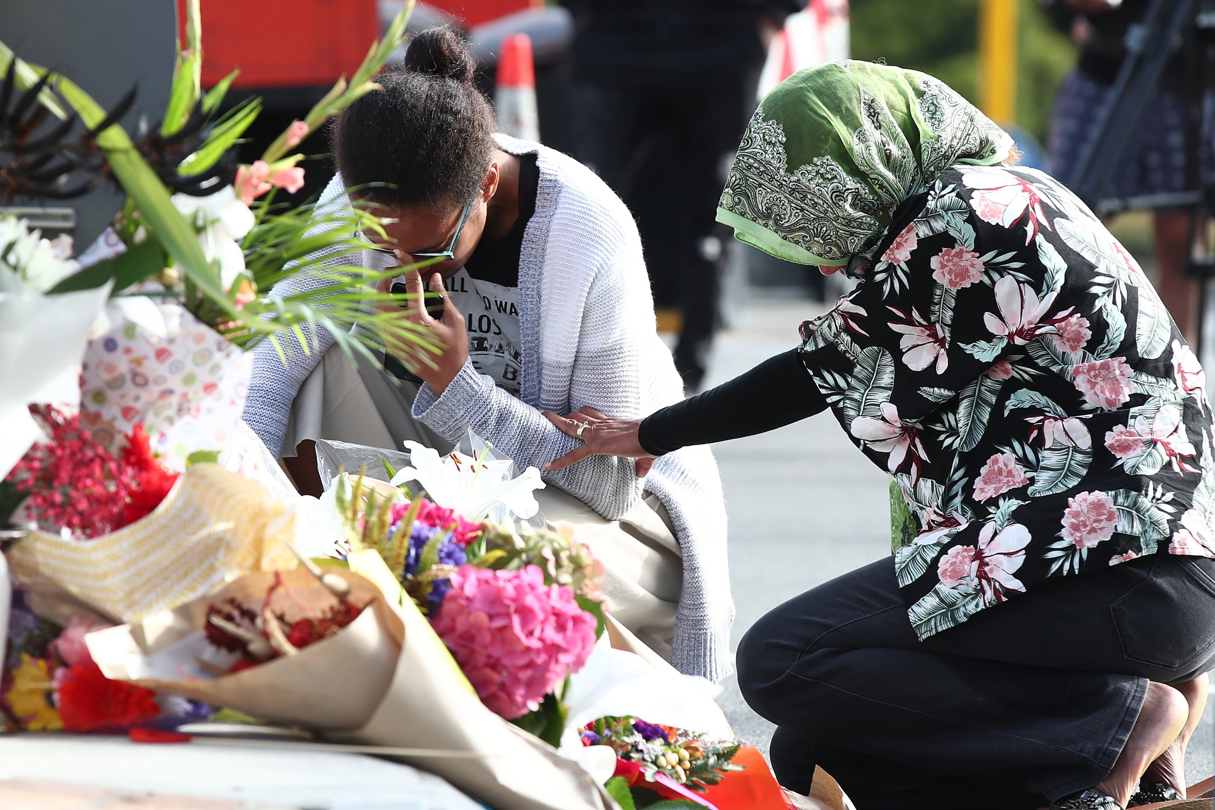 new zealand terror attack tribute getty images
