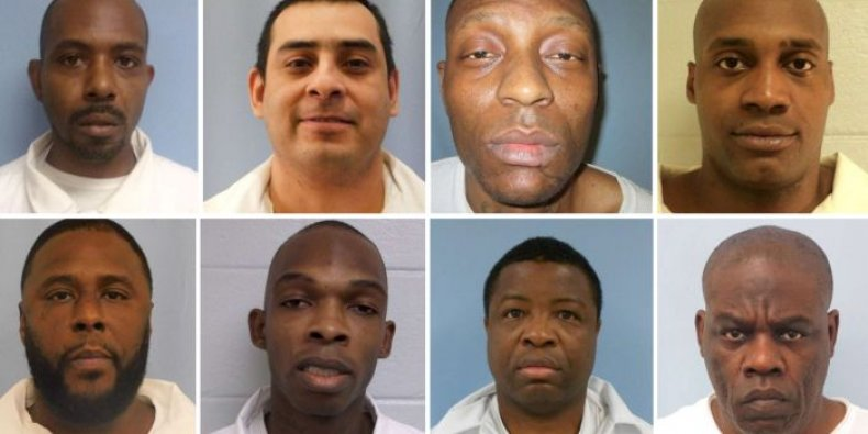 alabama inmates prison hunger strike solitary confinement
