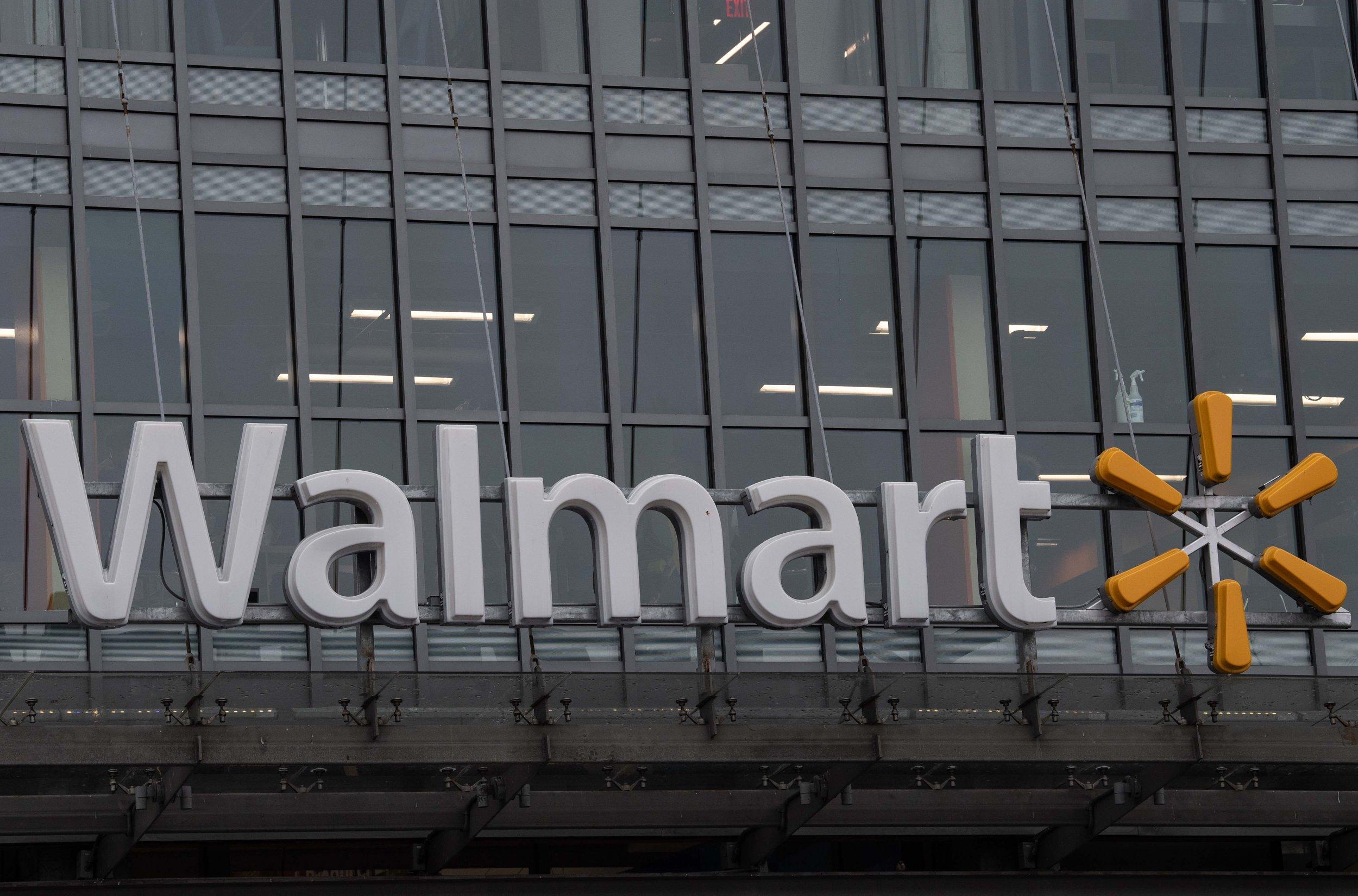 walmart logo on dc store