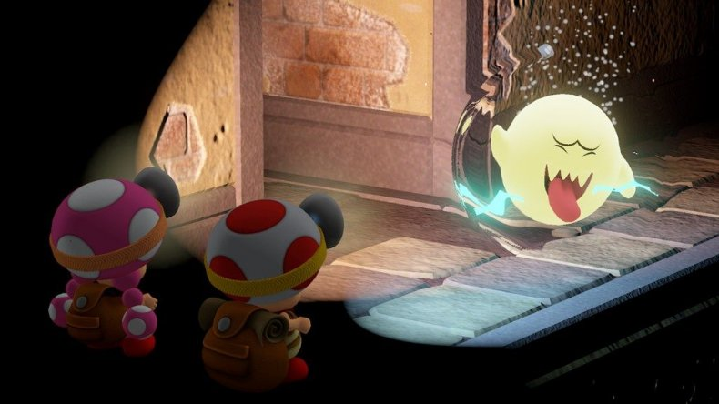 captain toad treasure tracker dlc boos