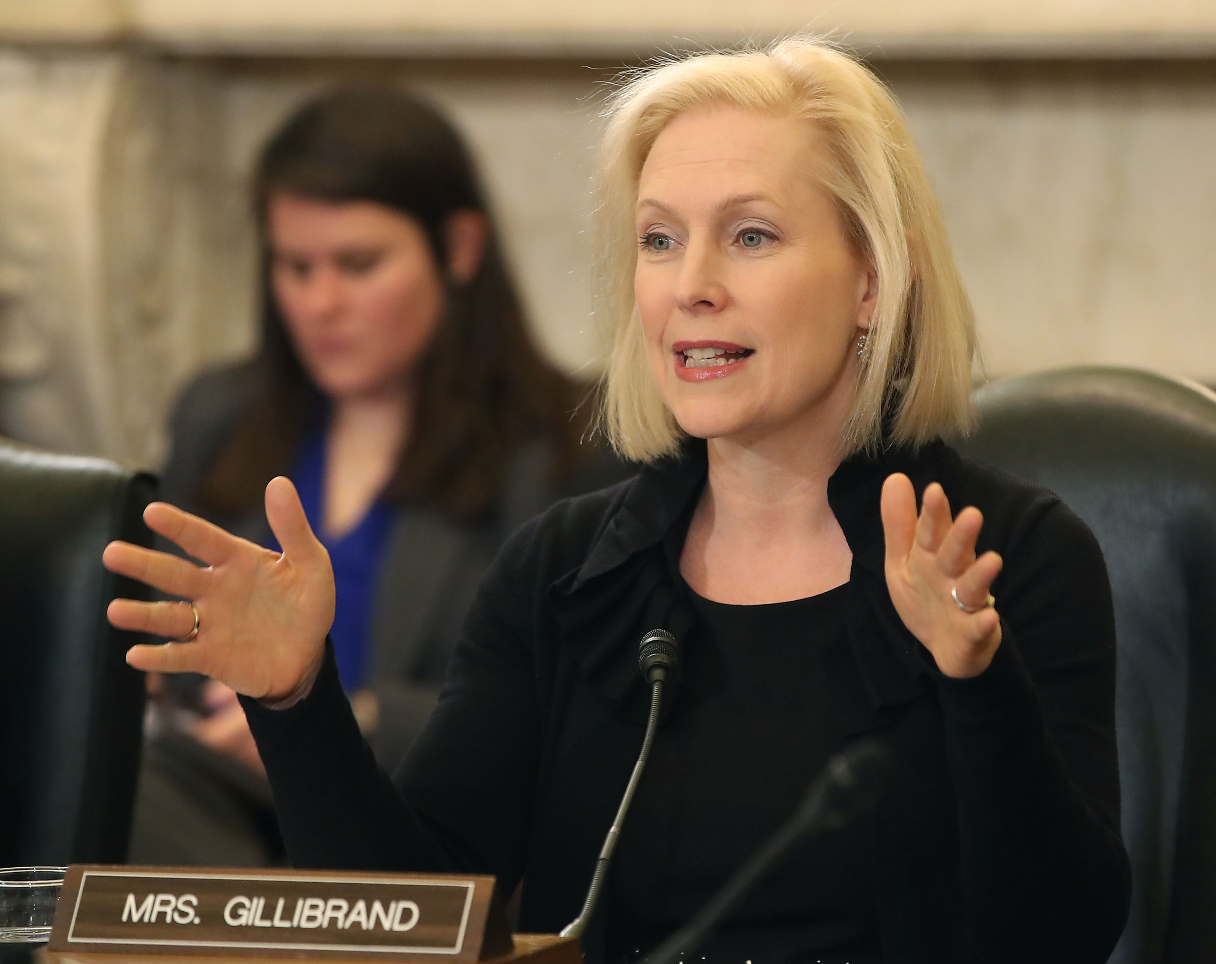 Gillibrand speaks in DC