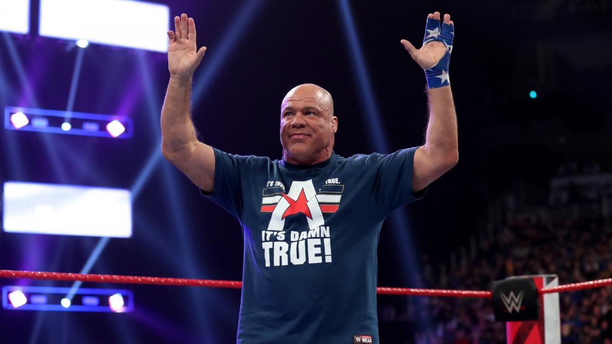 kurt angle wwe retirement wrestlemania 35 match john cena