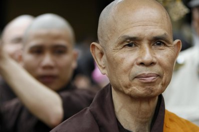 Thich Nhat Hanh in 2007