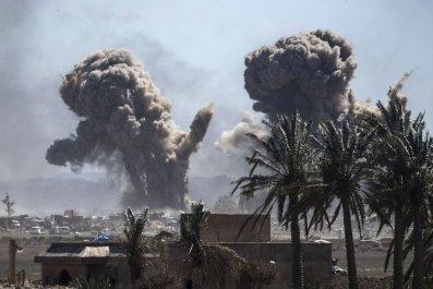 Donald Trump ISIS Baghouz