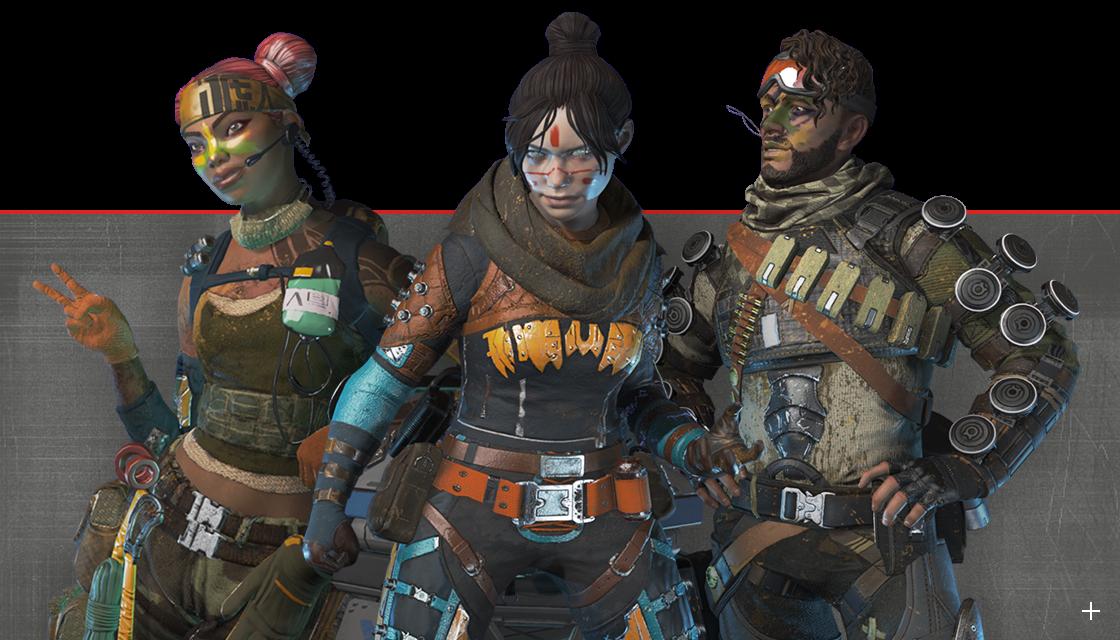 Apex legends battle pass skins