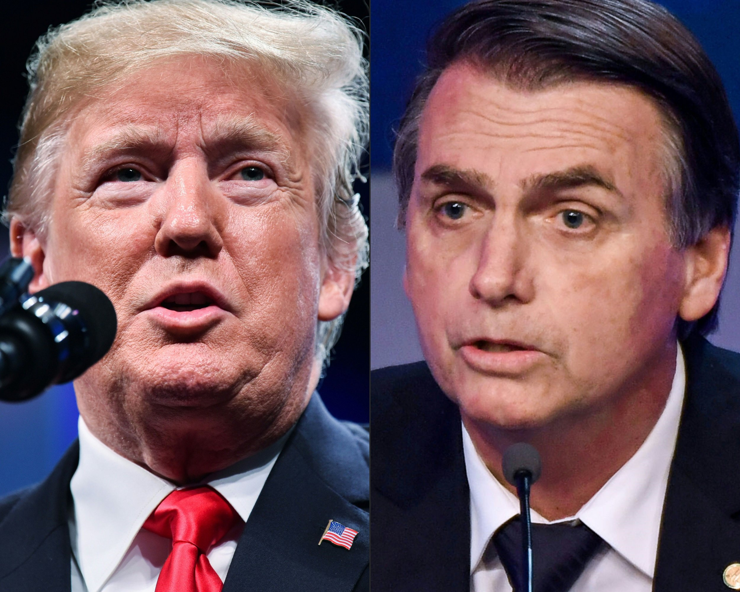 donald, trump, jair bolsonaro, brazil, meeting,