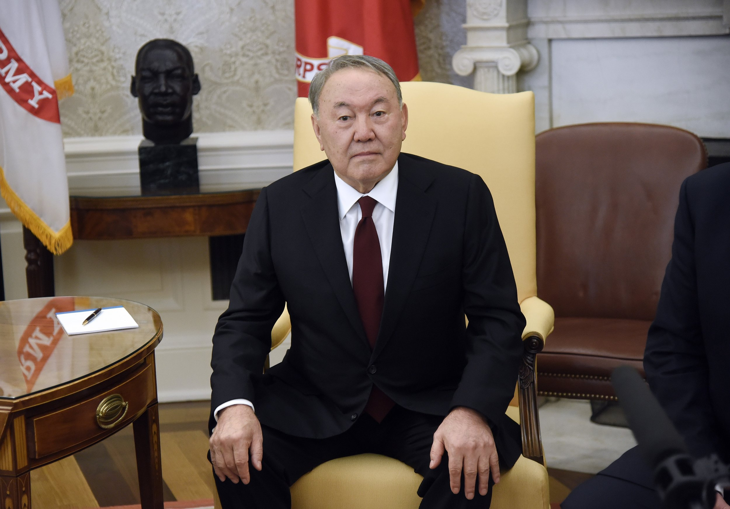Kazakh strongman Nursultan Nazarbayev quits after 28 years