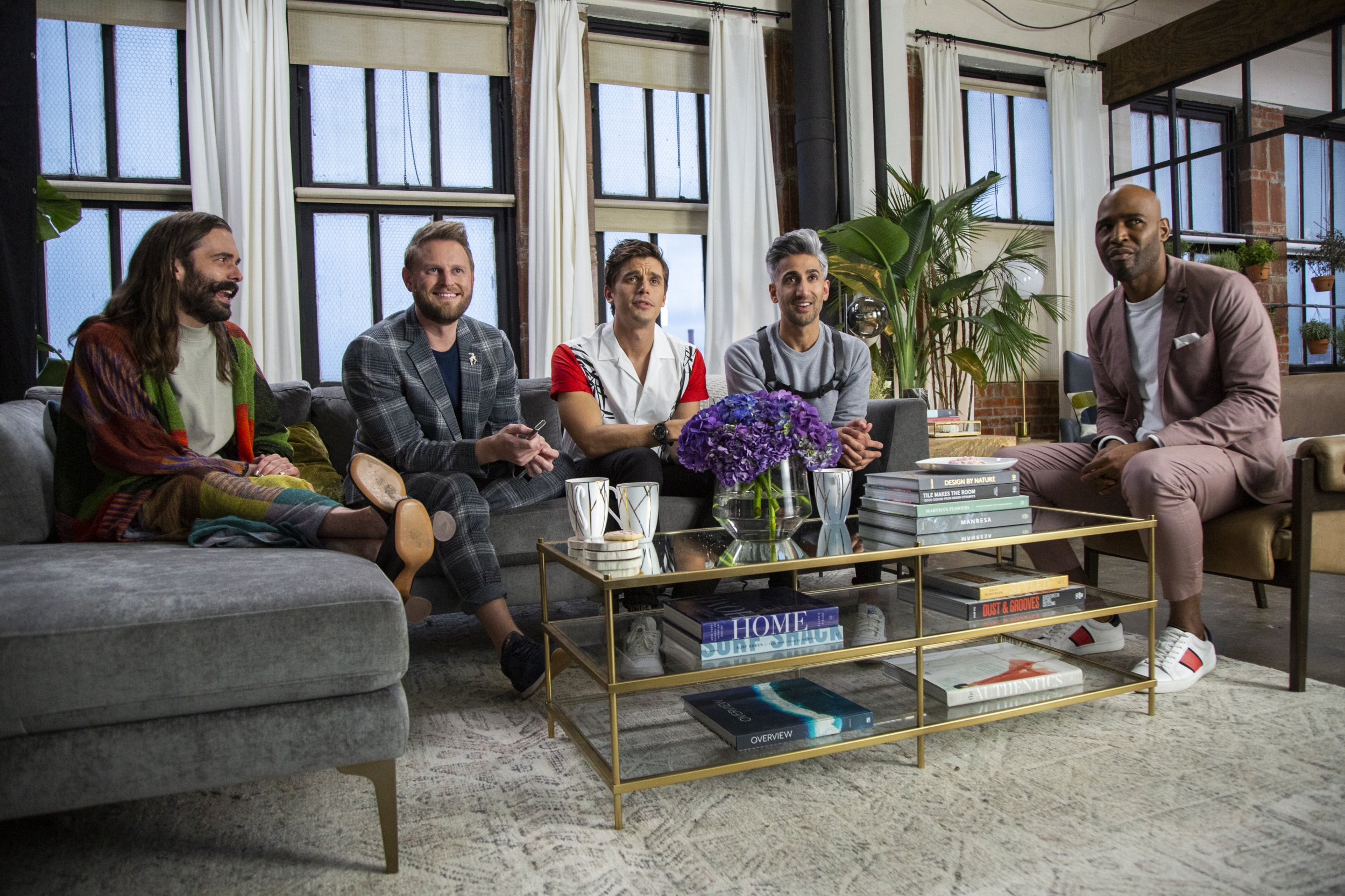 Could There Be A 'Queer Eye' Collaboration Episode With Marie Kondo? Tan France Says 'We Pray For It Every Day'