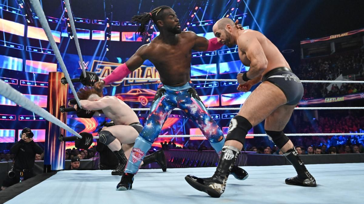 kofi kingston wwe smackdown live results march 19