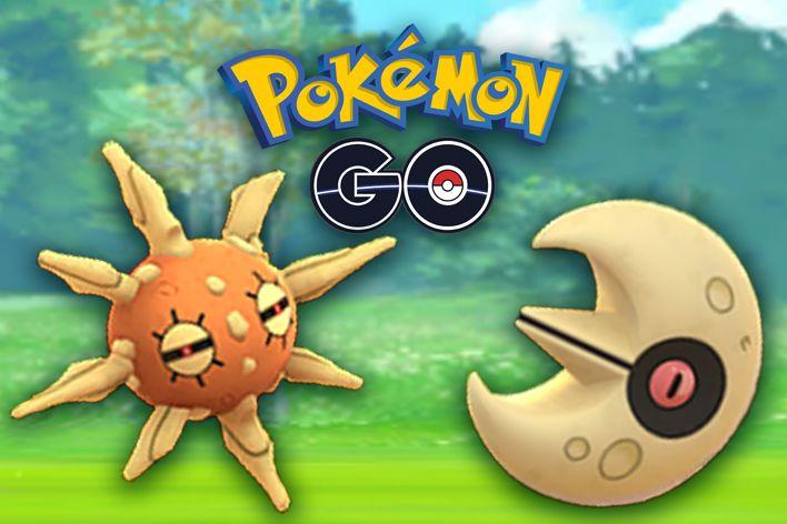 pokemon go shiny solrock lunatone equinox event grass type