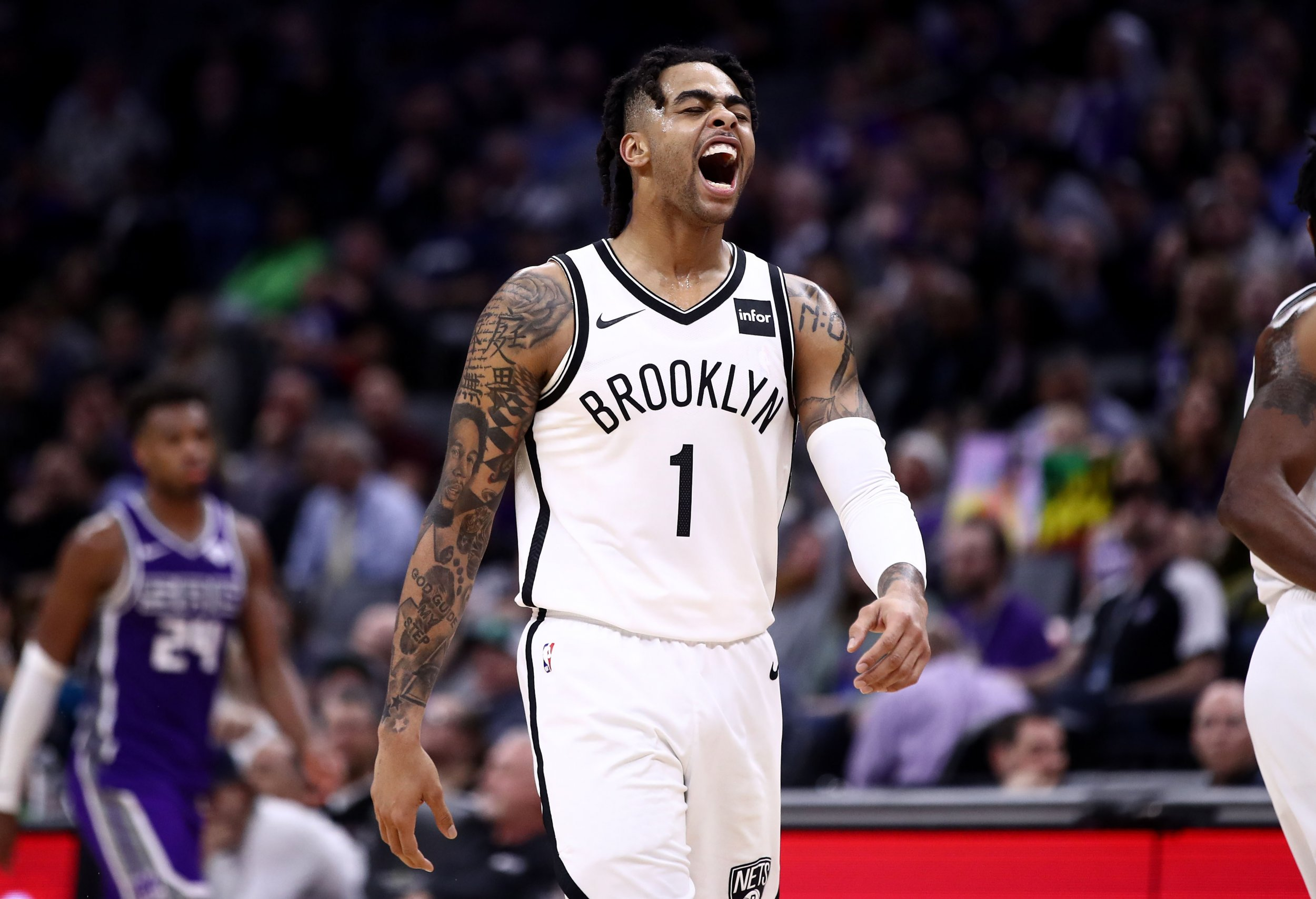 D'Angelo Russell, Brooklyn Nets