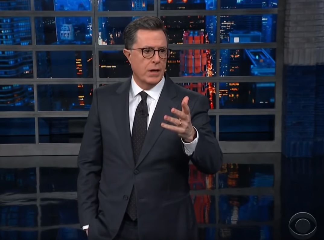 Stephen Colbert The Late Show Donald Trump