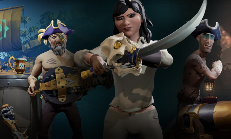 Sea, thieves, patch, notes, 1, 4, 5, update, today, new, mercenary, voyages, mouse, keyboard, support, chat, pad, fixes, equipping, weapons, delay, golden, legendary captain bones pirate cutlass
