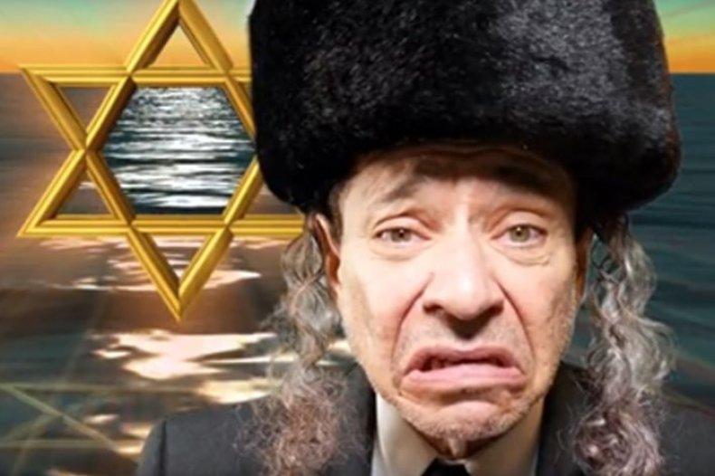 Joey Camen camenTV characters Rabbi (1)