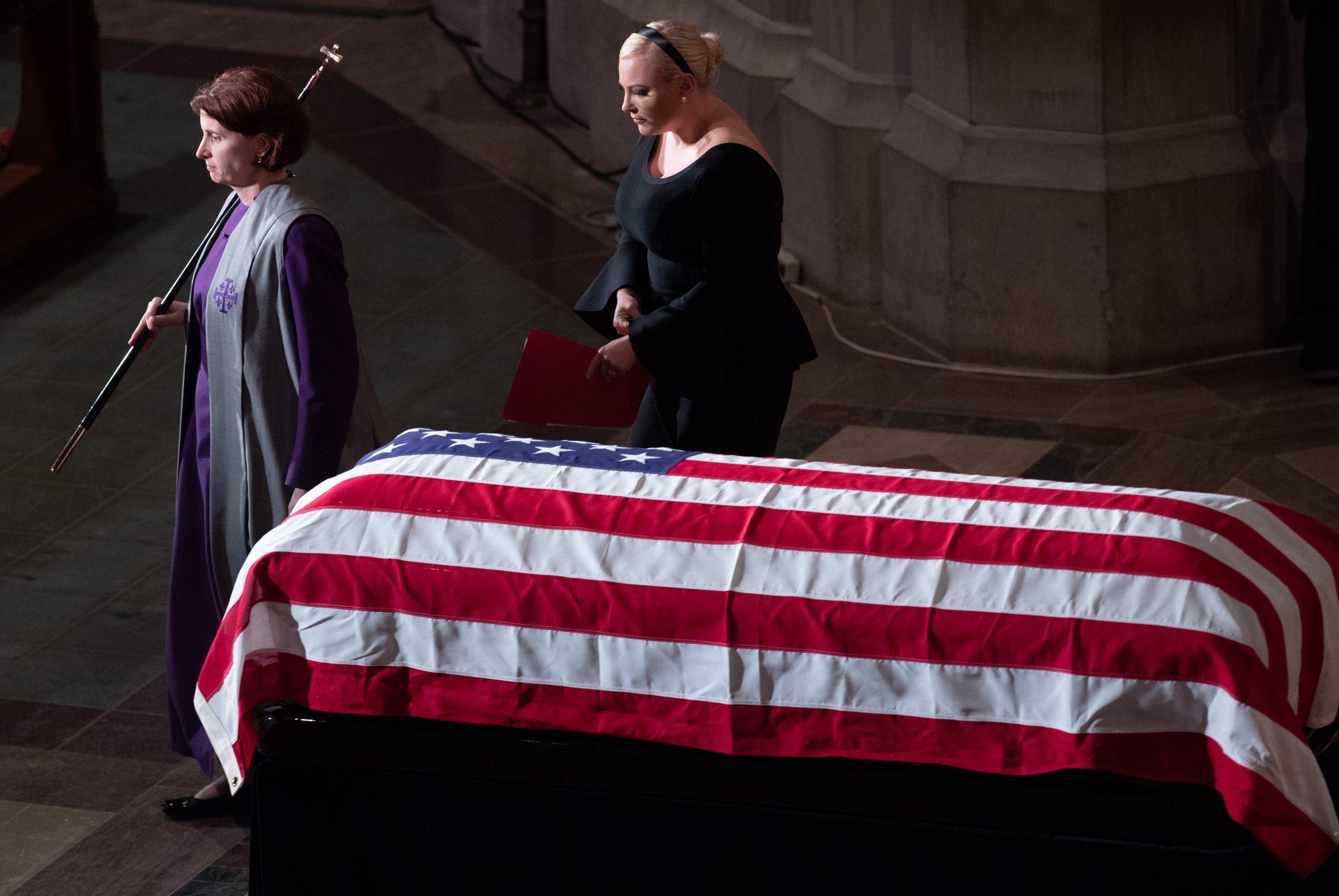 Meghan McCain, John McCain, Donald Trump