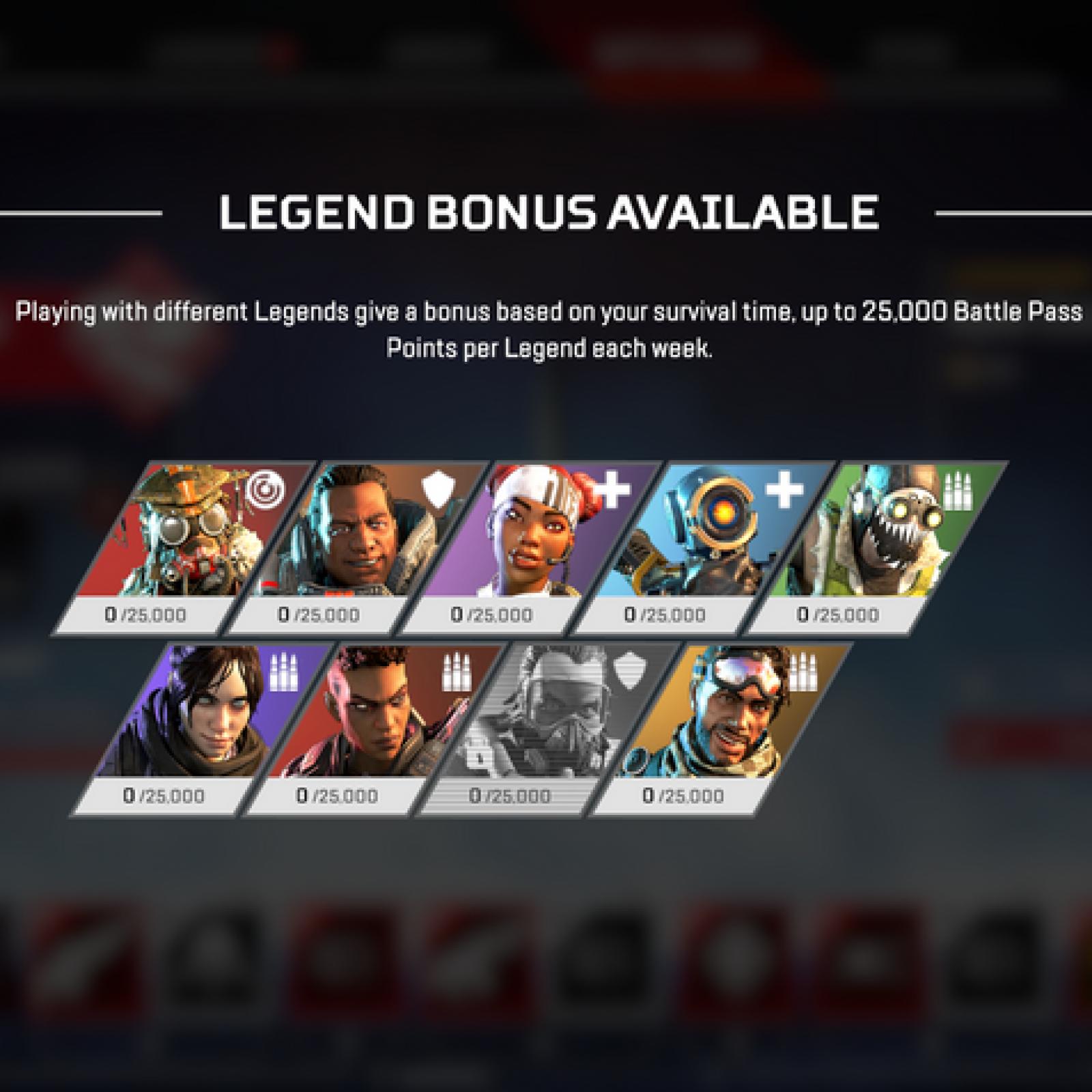 Apex Legends' Legends Bonus Guide: Understanding the New Battle Pass