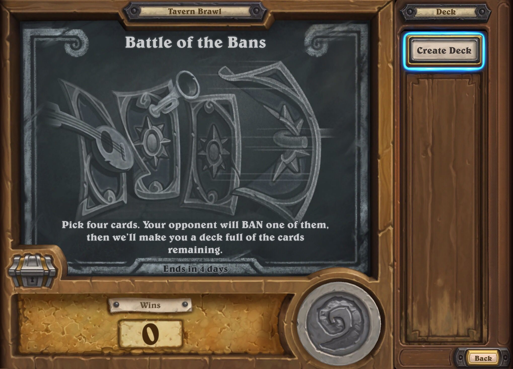 hearthstone tavern brawl battle of the bans guide deck list best class