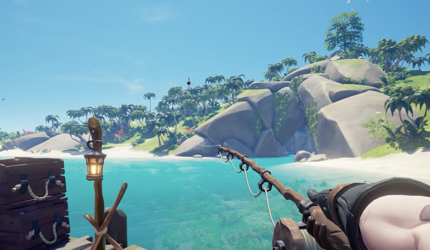 sea of thieves mega update anniversary fishing April 30 release date