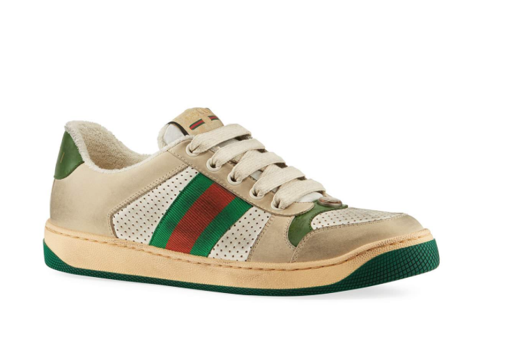 6a7b472635fc  Dirty  Gucci Shoes Sell For  870
