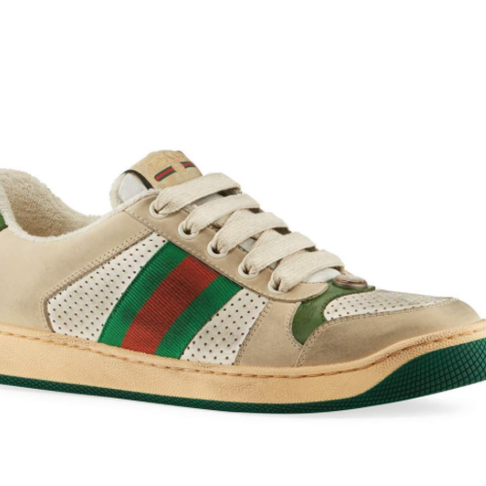 accde3864 'Dirty' Gucci Shoes Sell For $870, Come With Cleaning Instructions