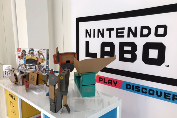 Nintendo unviels Labo VR games and more in new trailer