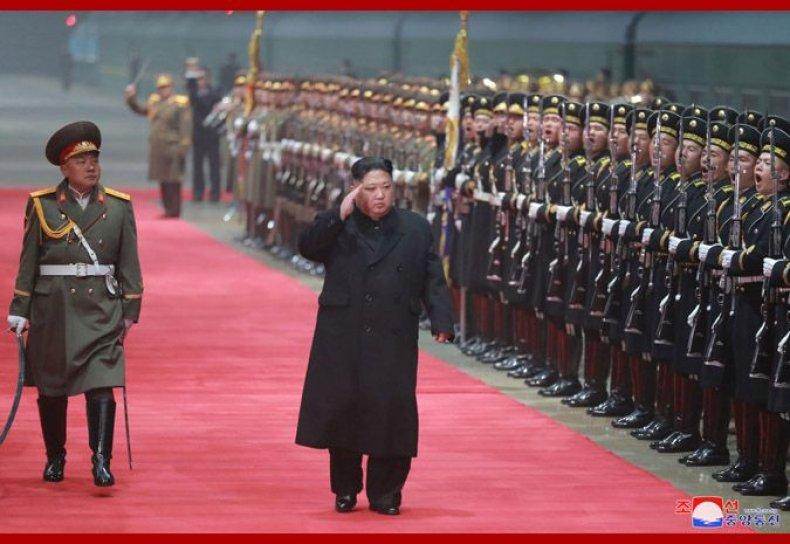 NorthKoreaKimReturnVietnam