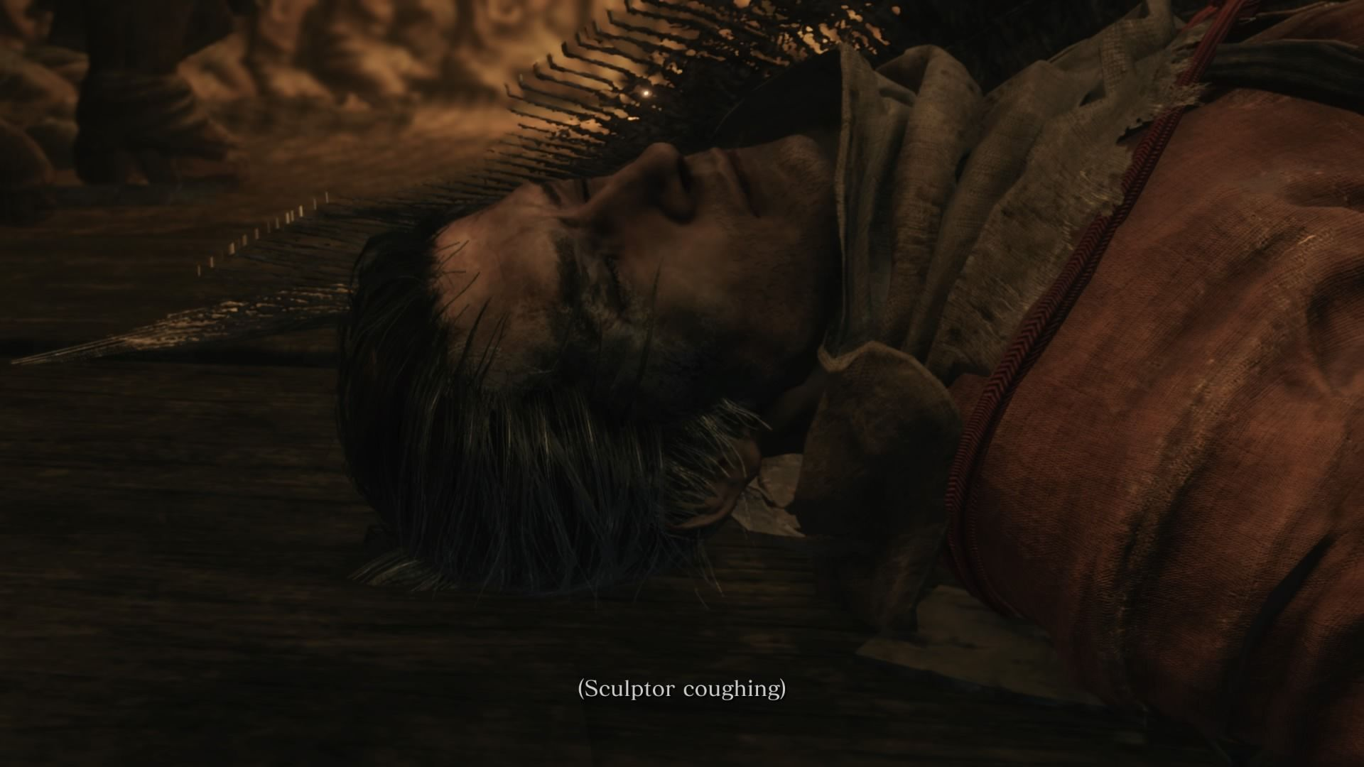 sekiro-rot-essence-dragonrot-cure-sculptor-coughing
