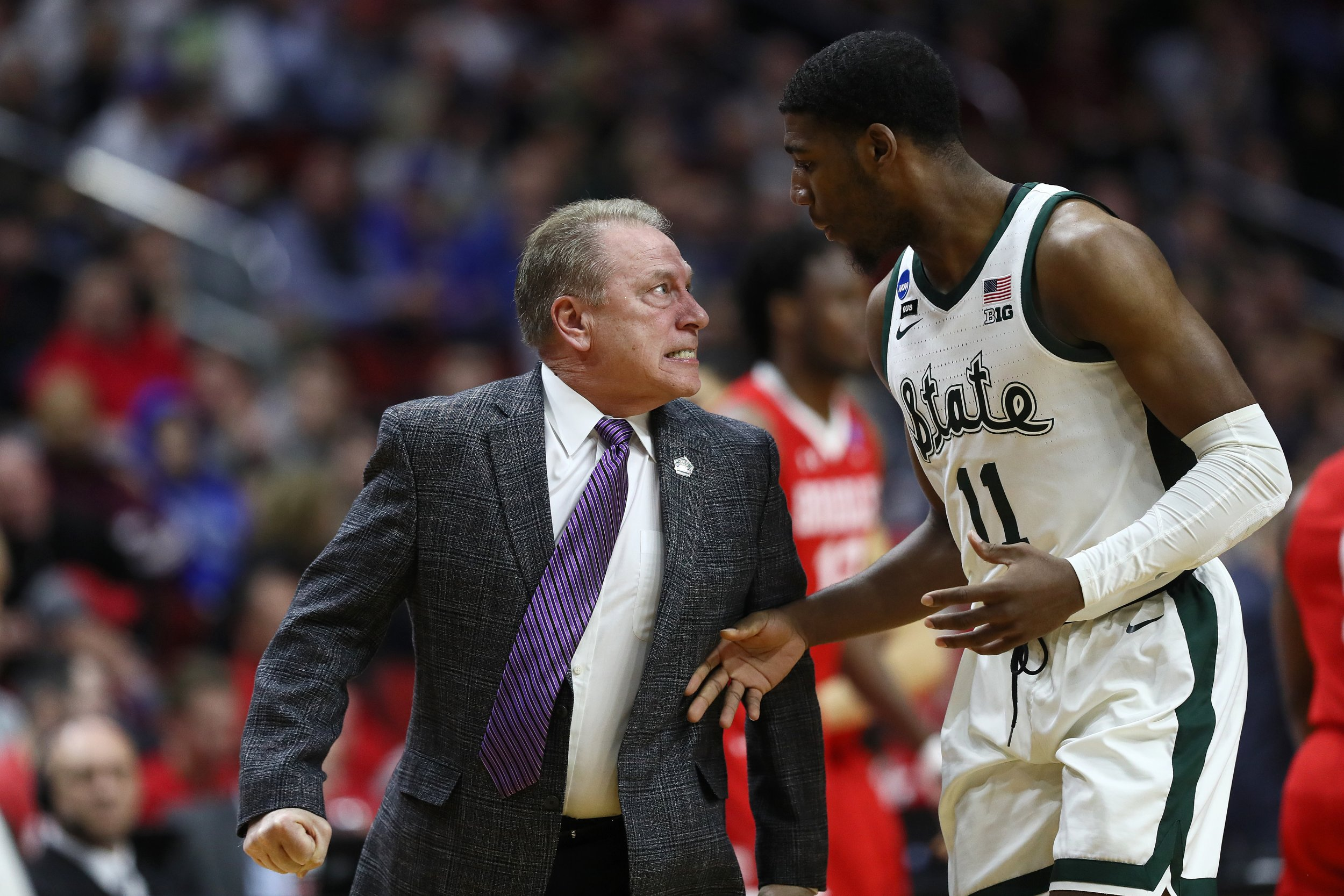 Tom Izzo Lays Into 'Perplexed' Freshman Aaron Henry, Held Back By Other Players