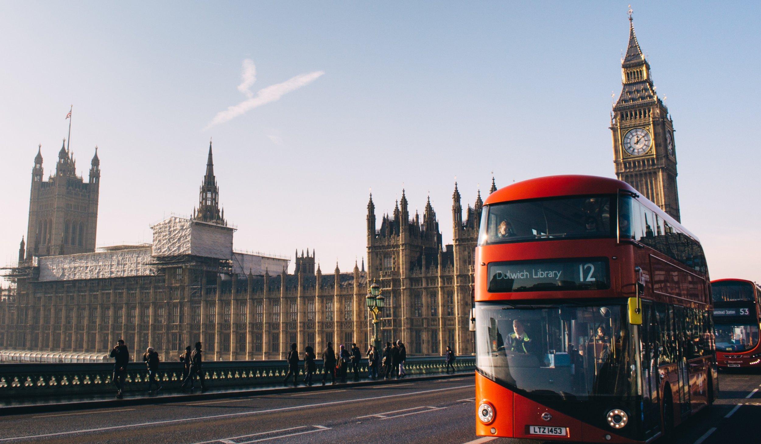 London England travel brexit