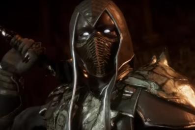 noob saibot mortal kombat 11 gameplay trailer