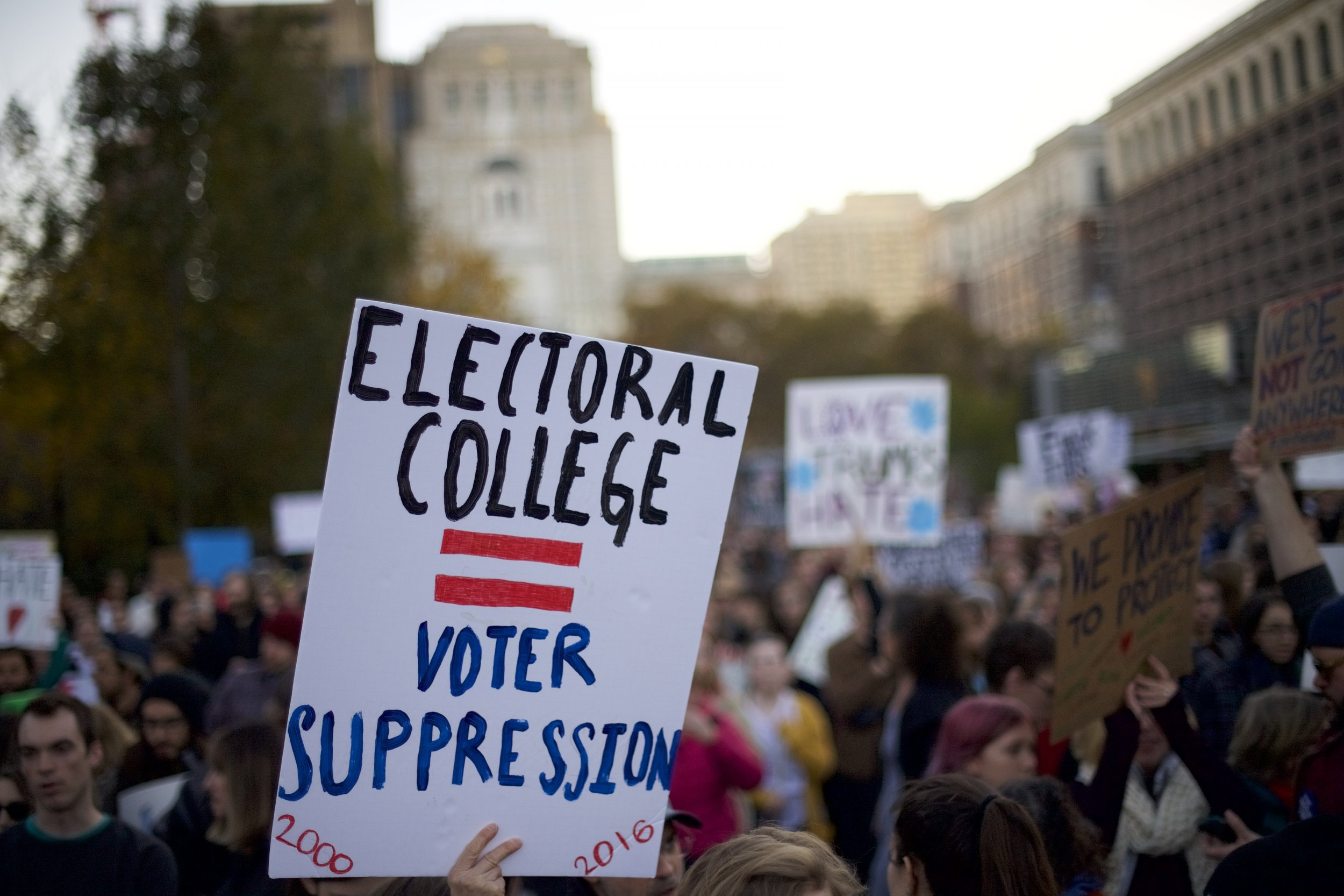 electoral college protest amendment