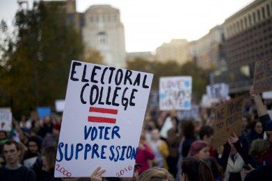 electoral college protest amendment