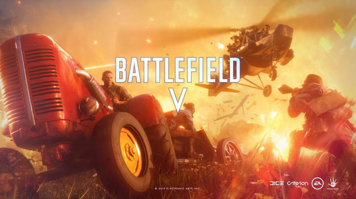 Battlefield 5 trial by fire logo