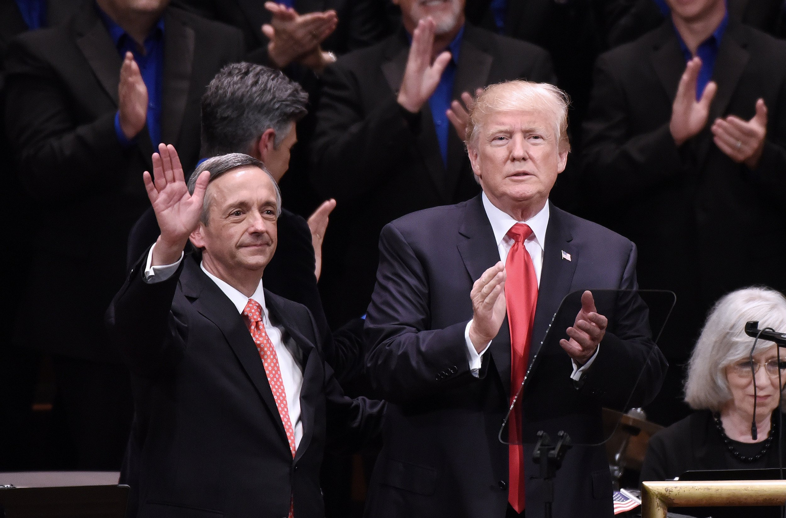 newsweek.com - Christina Zhao - Christians who support Trump are morally and spiritually superior, Pastor Robert Jeffress tells Fox News