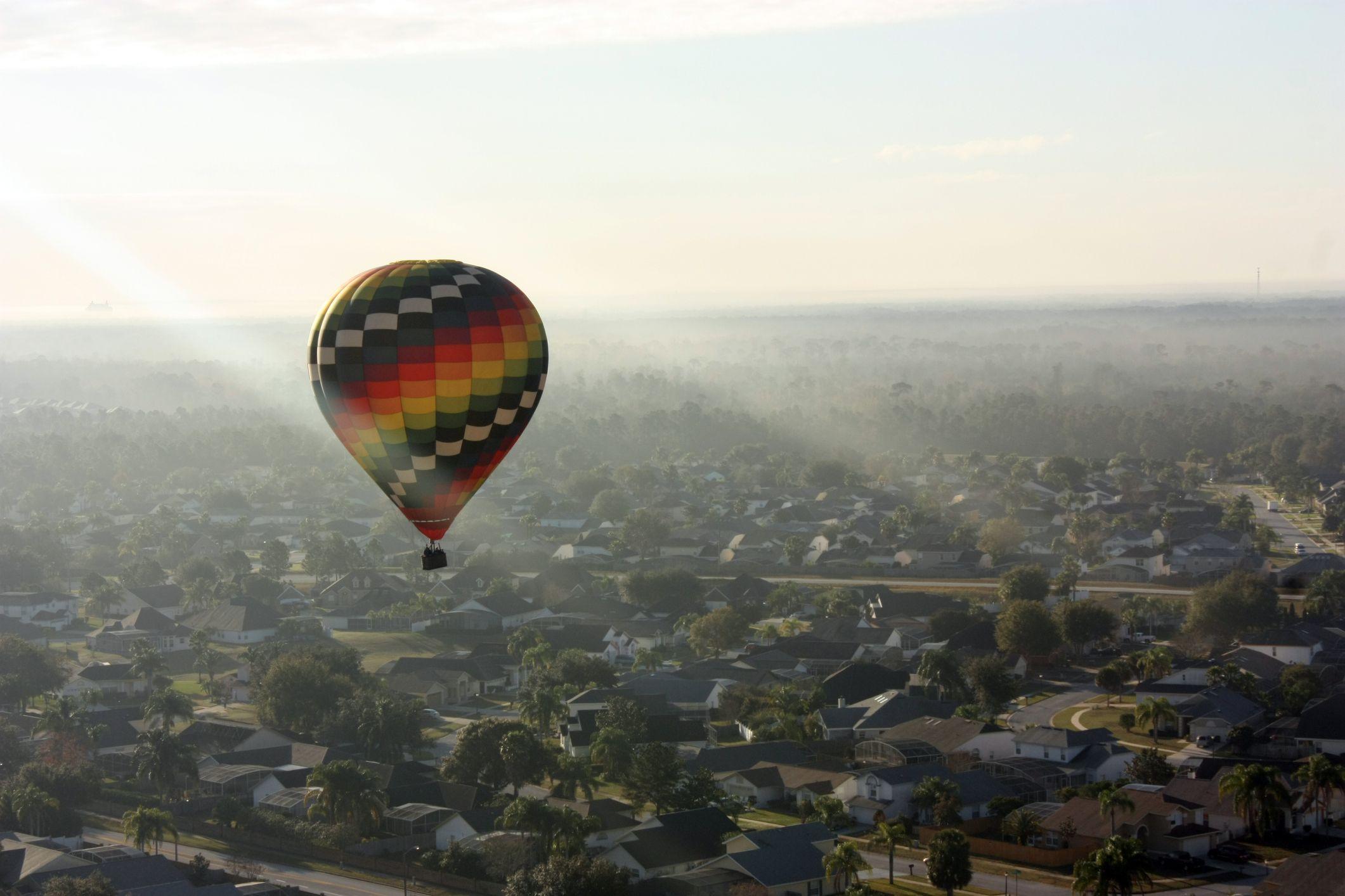 hot air balloon stock getty