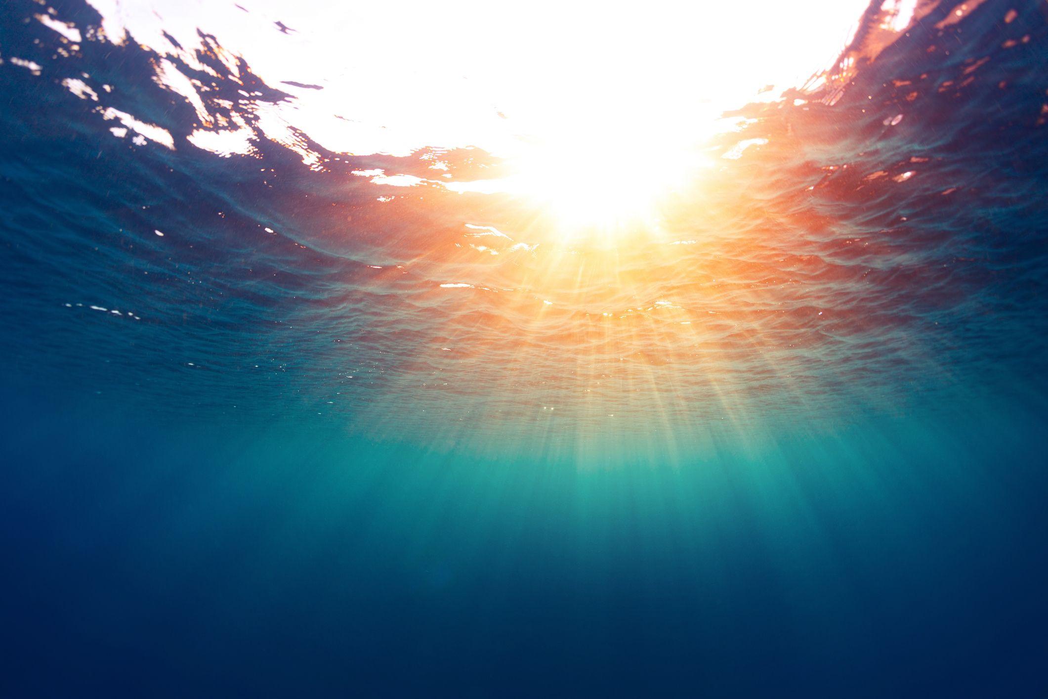 file photo of sea and sun