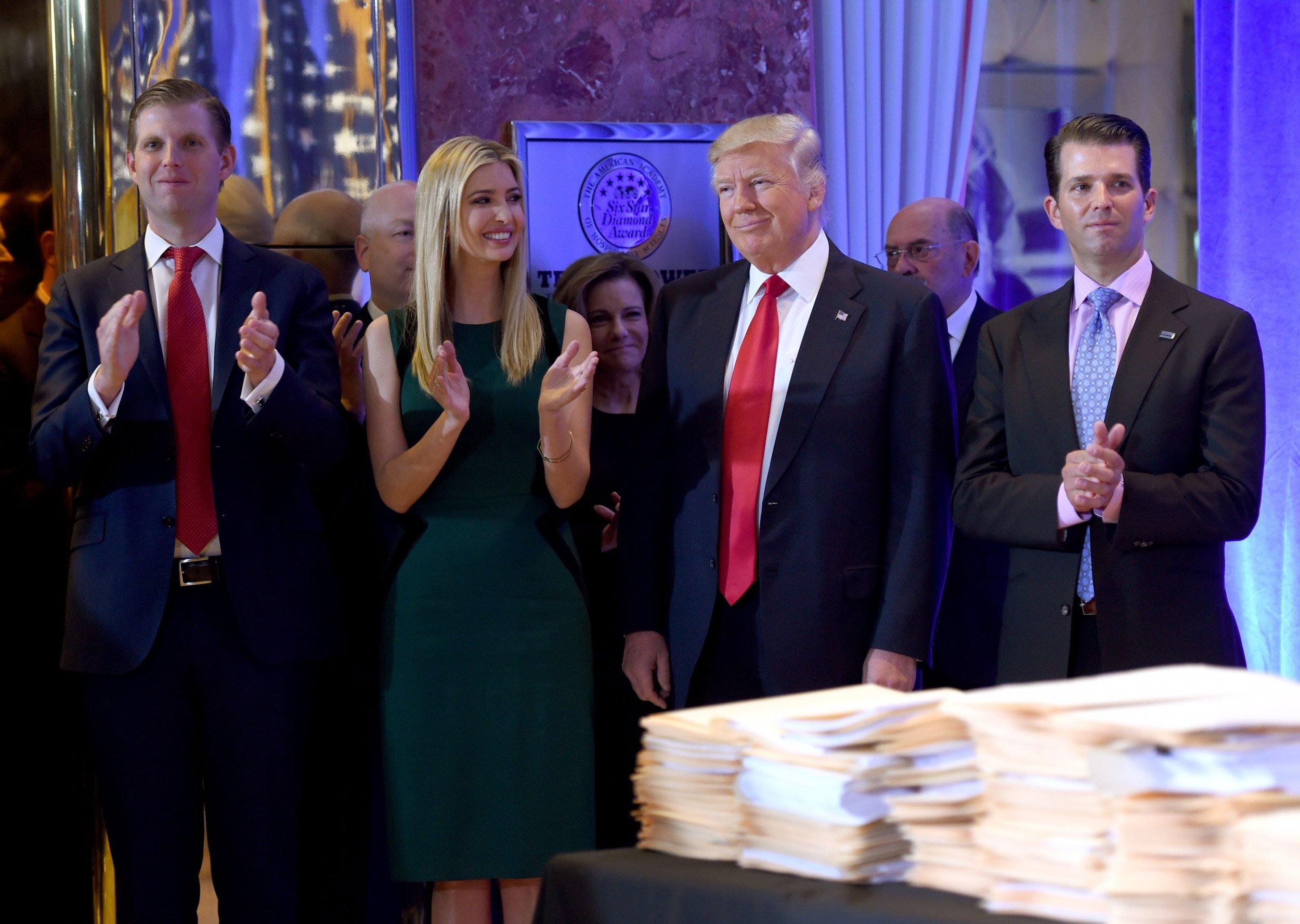 Ivanka Trump, Mueller Report