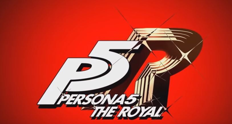 p5r title trailer logo