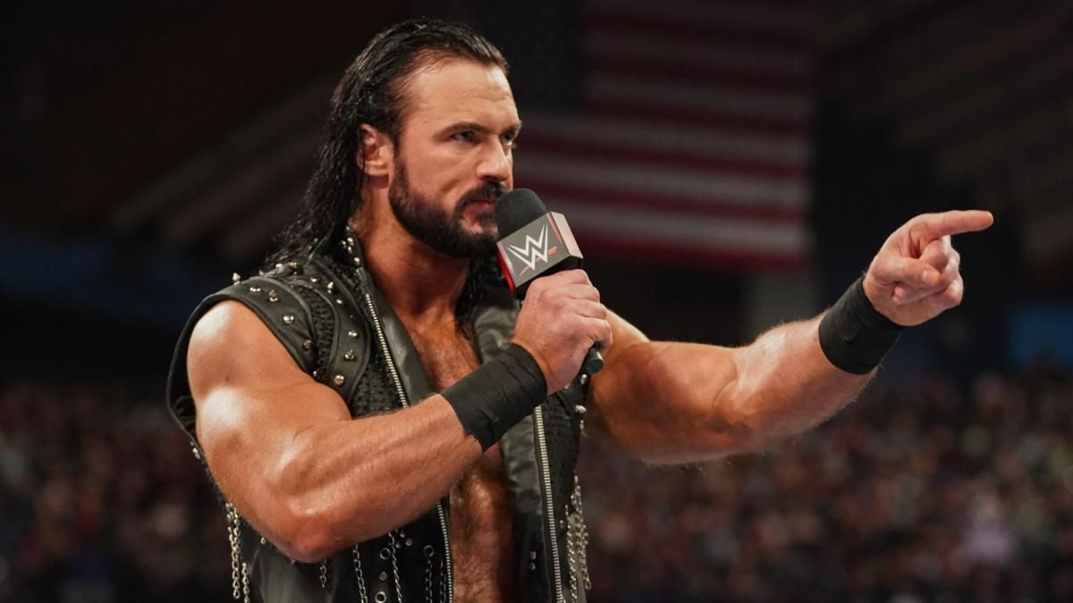 drew mcintyre monday night raw live results wwe