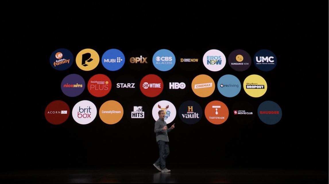 Apple TV app new channels on smart tv