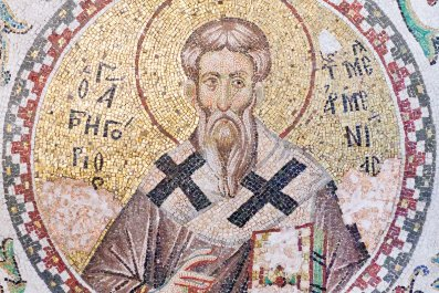 byzantine mosaic stock getty