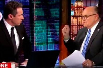 Chris Cuomo Rudy Giuliani Trump Mueller