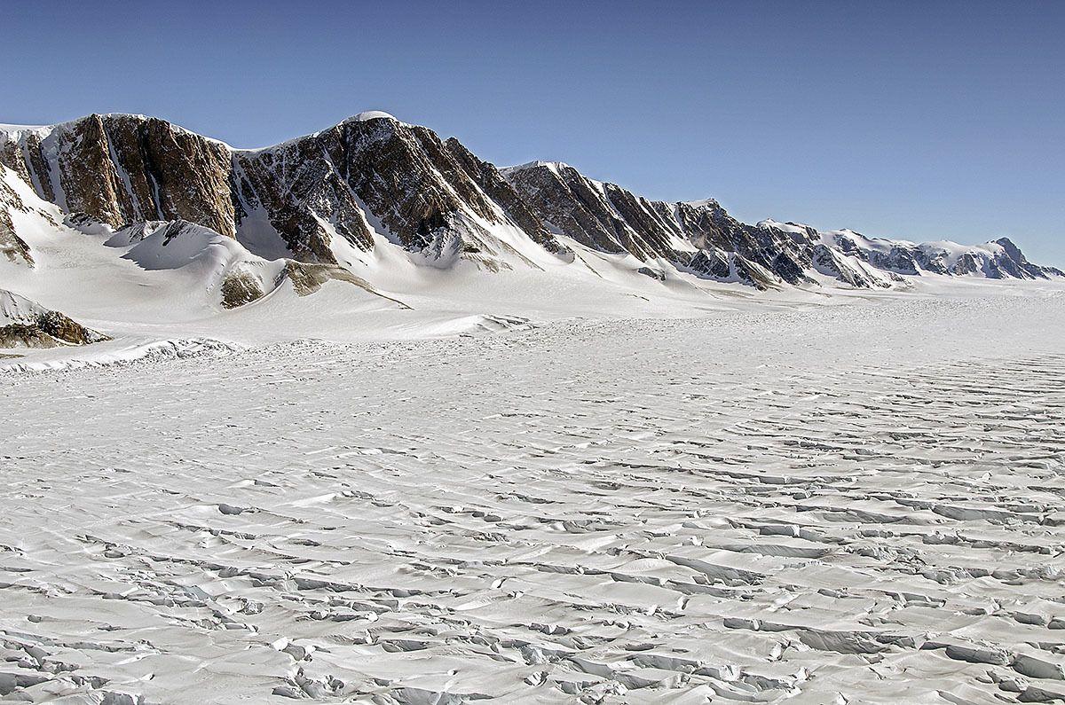 East Antarctica glacier